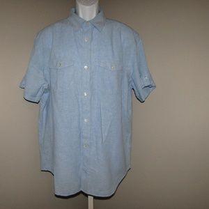 Banana Republic shirt Blue men Size XL